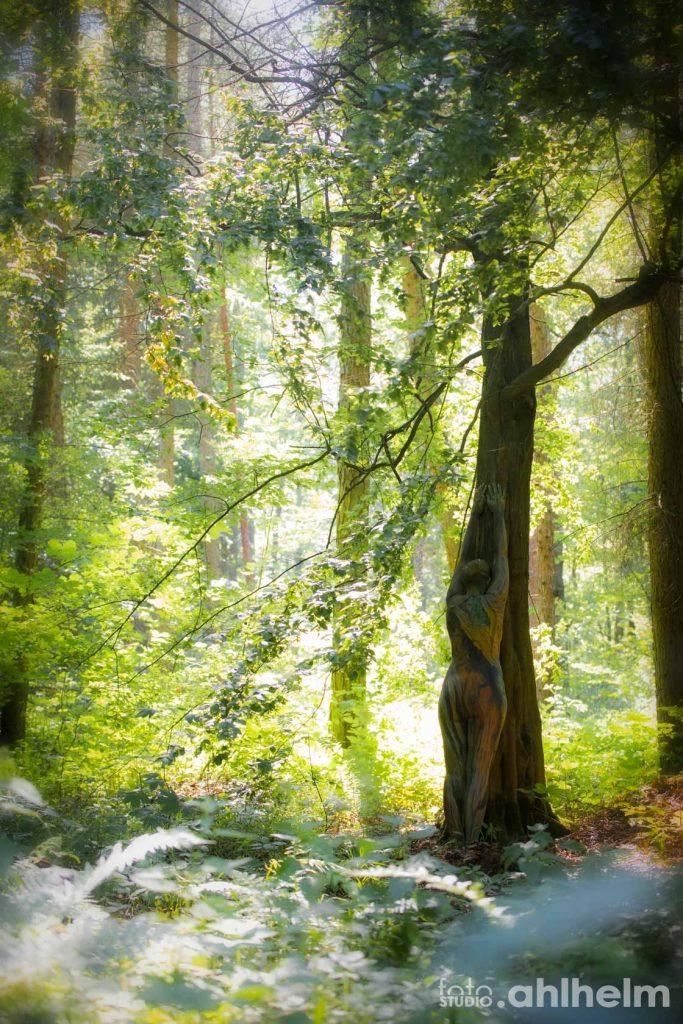 Fotostudio Ahlhelm Bodypainting Wald 6