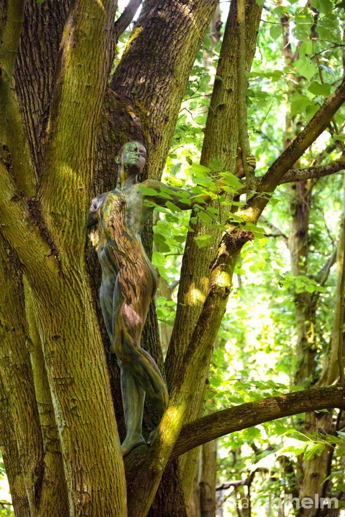 Fotostudio Ahlhelm Bodypainting Wald 7