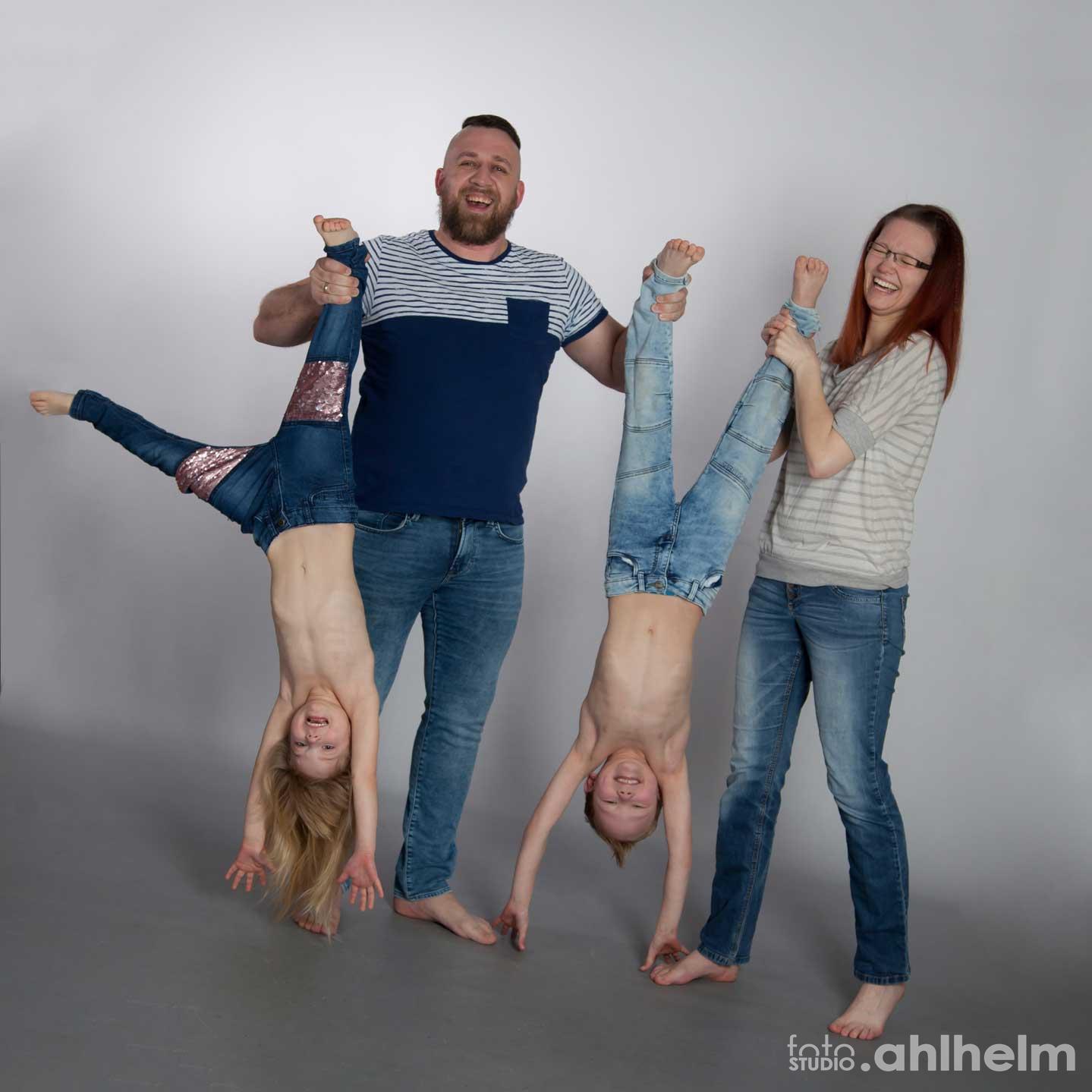 Fotostudio Ahlhelm Familie Lustig