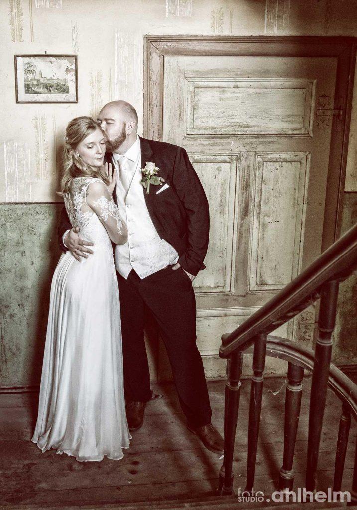 Fotostudio Ahlhelm Hochzeit on location Bauernhaus