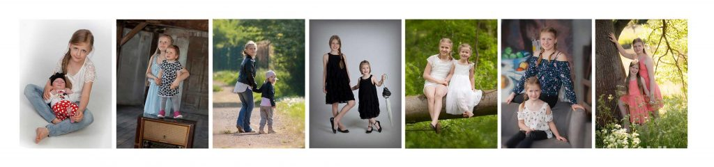 Fotostudio Ahlhelm Schwestern Zeitreise