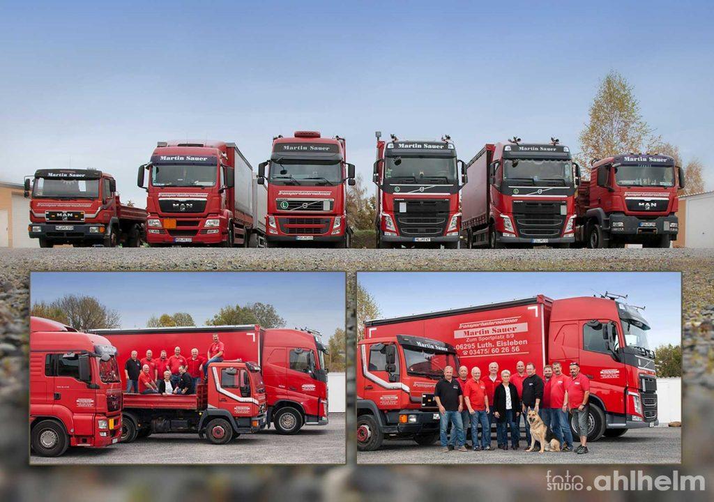 Fotostudio Ahlhelm Transportunternehmen Martin Sauer Eisleben