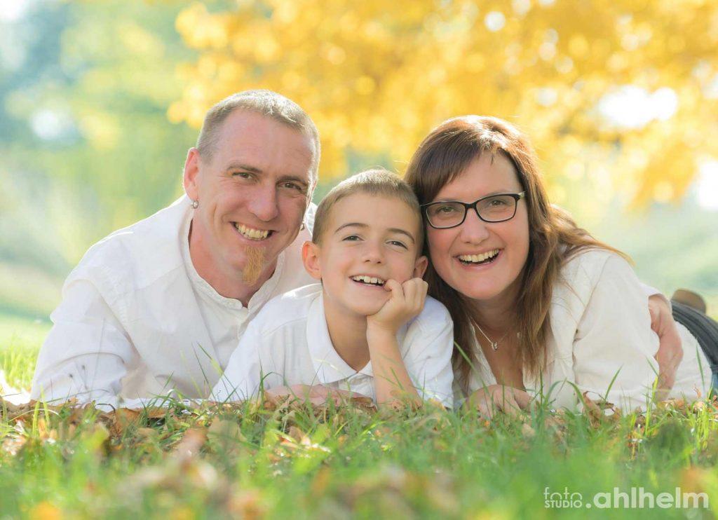 Fotostudio Ahlhelm outdoor Familie